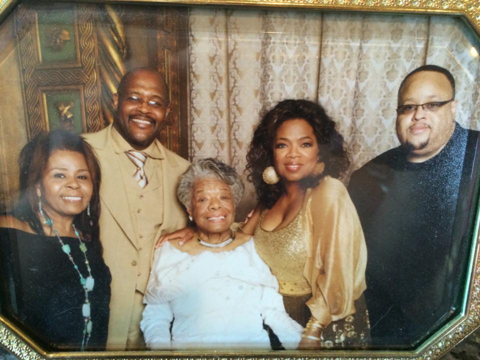 Fred & Maya Angelou