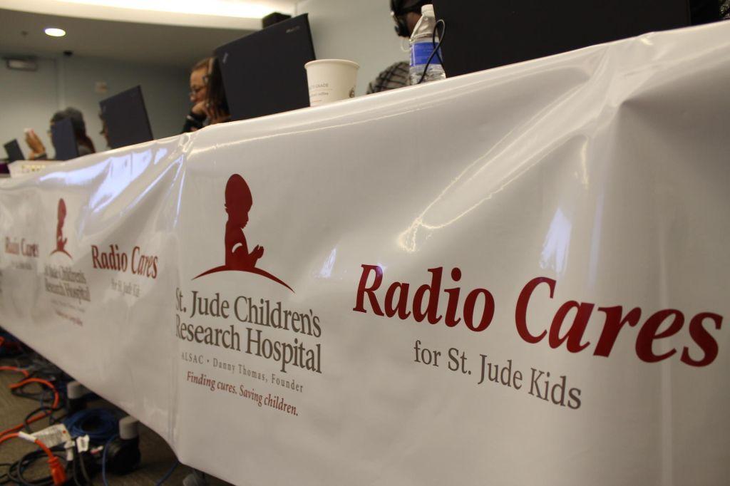 Radiothon photos St. Jude 2015