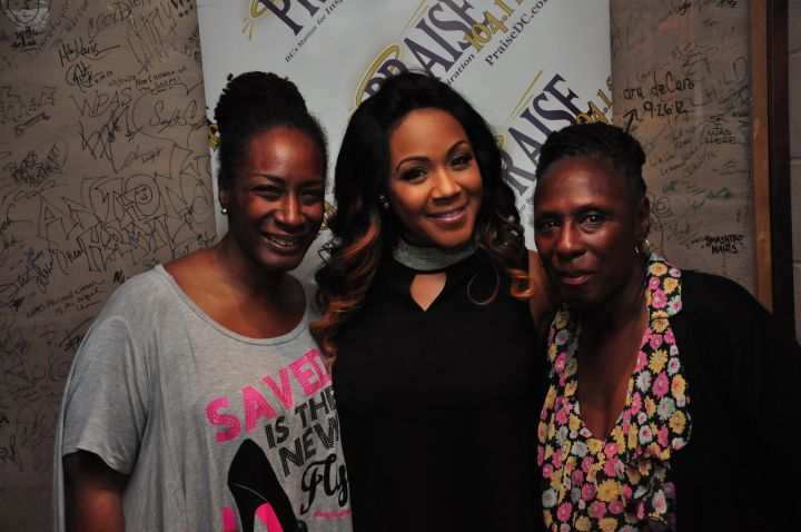 Praise 104.1 Erica Campbell Meet & Greet
