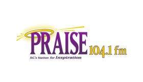 Praise 104 logo