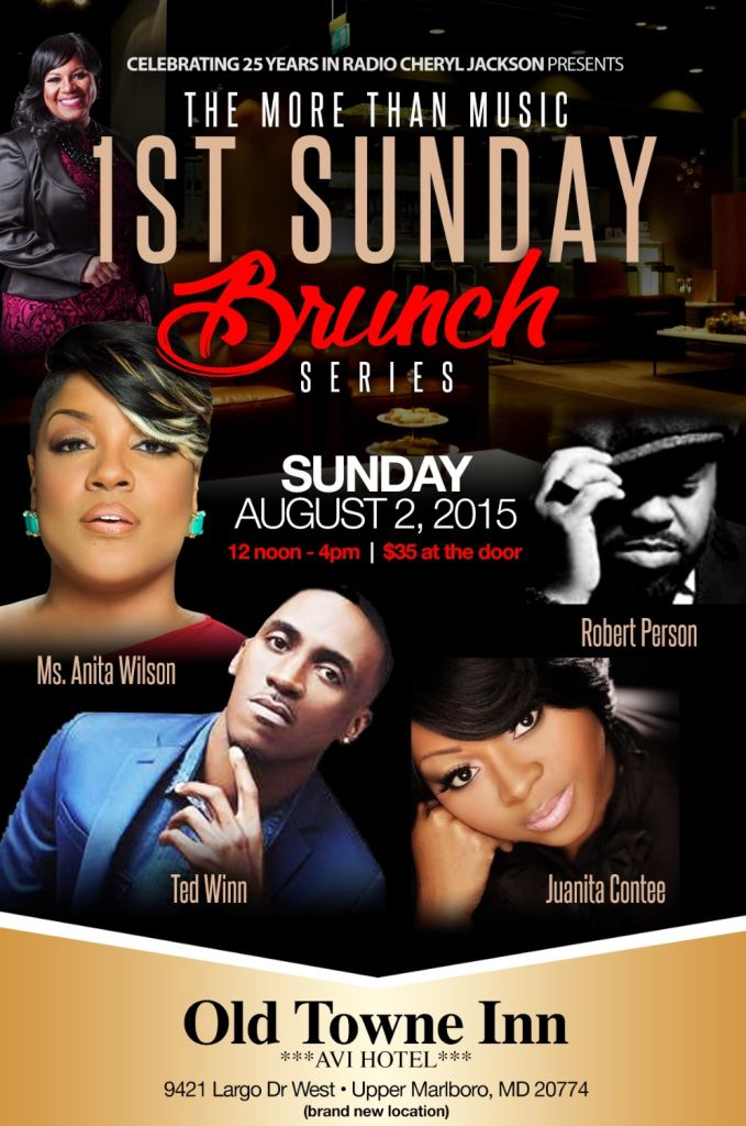 August 1st Sunday Brunch
