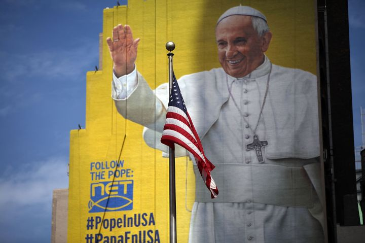 New York City Prepares For Visit Of Pope Francis