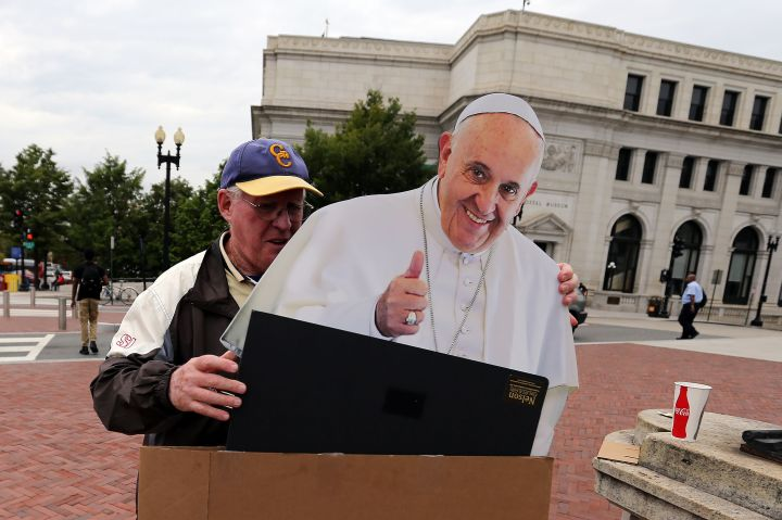 Pope Francis preparation in Washington