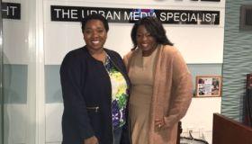Dr. Yashima and Whitney Faison of Bright Beginnings