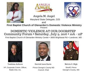 Domestic Violence at Our Doorstep Community Forum