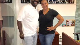 Denise Hill and Chief Brian Jordan of Howard University