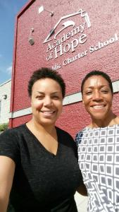 Denise Hill interviews Lecester Johnson of Academy of Hope