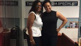 Denise Hill and Alverta Lopez