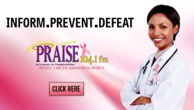 Breast Cancer Month Praise DC