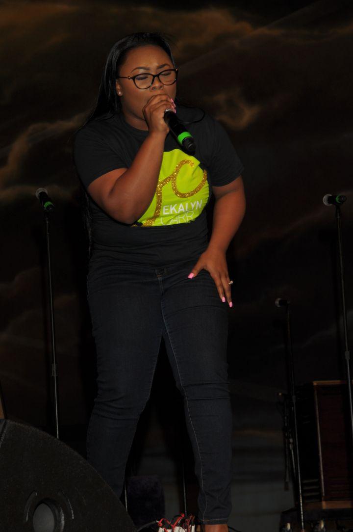 [Photos] Jekalyn Carr Live At Spirit Of Praise