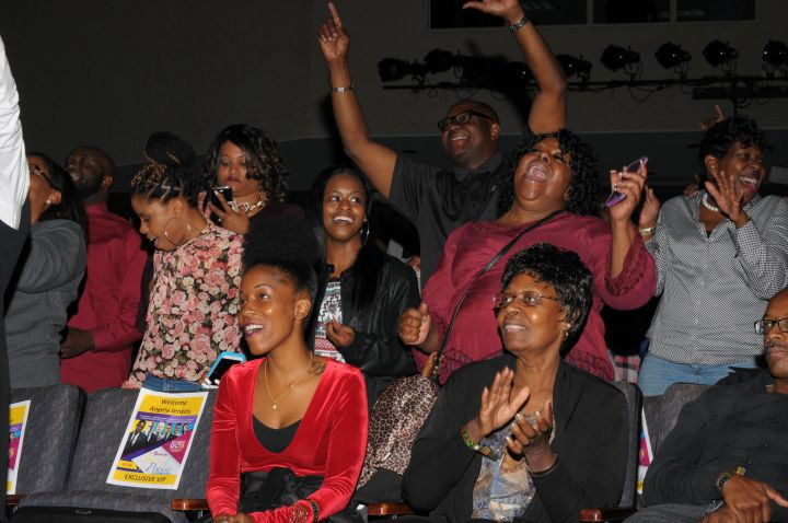 Intimate Fan Moments At Spirit Of Praise 2016