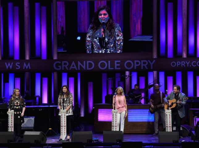 The Grand Ole Opry Goes Pink