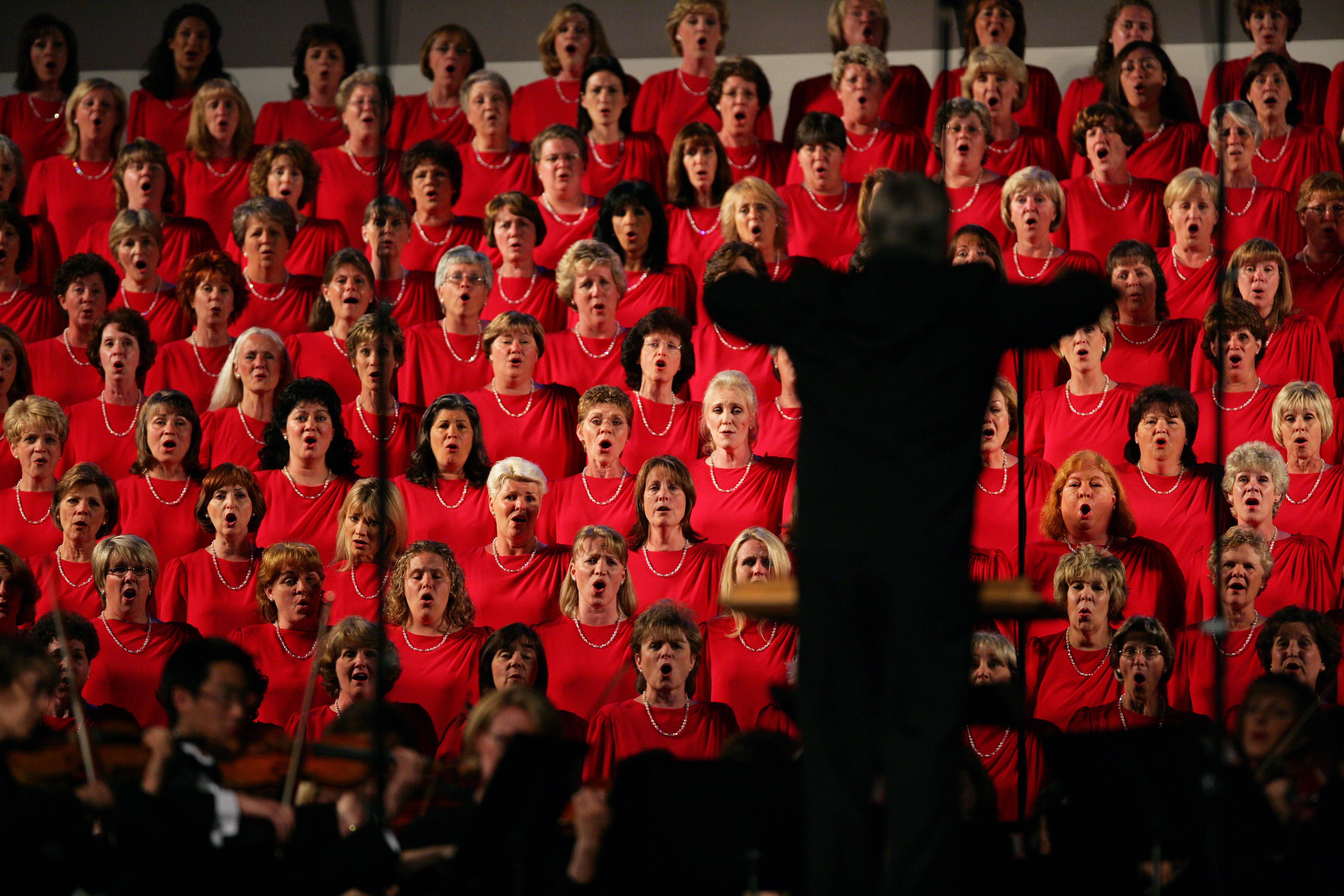 The Mormon Tabernacle Choir In Concert - San Jose, CA
