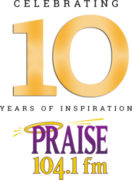 10 years praise DC header logo