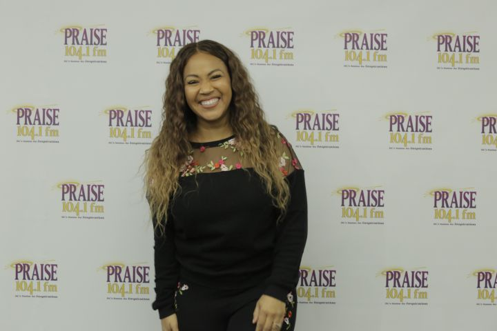 Praise 104.1 Erica Campbell Meet & Greet