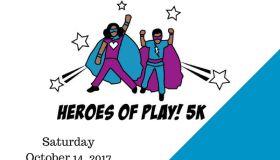 Heroes Of Play 5K Run