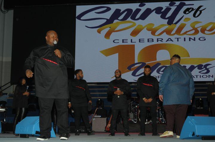 Charles Butler & Trinity At Spirit Of Praise 2017
