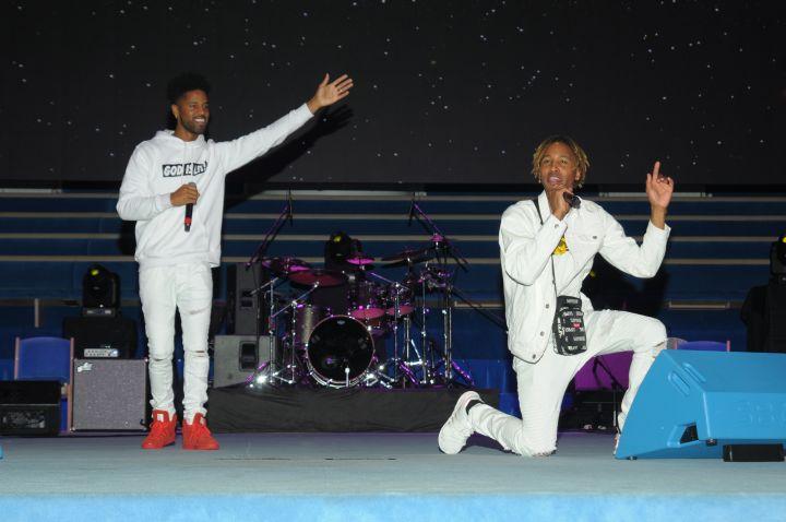 Kendall Williams At Spirit Of Praise 2017