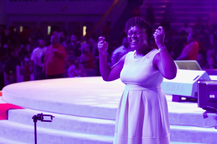 Moments Of Praise At #SOPDC17