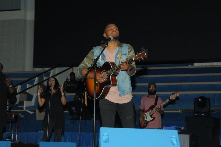 Todd Dulaney At The 2017 Spirit Of Praise