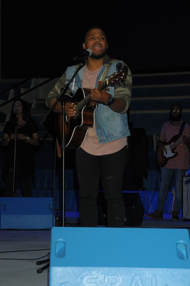 Todd Dulaney At The 2017 Spirit Of Praise