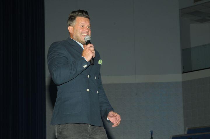 Wess Morgan At 2017 Spirit Of Praise