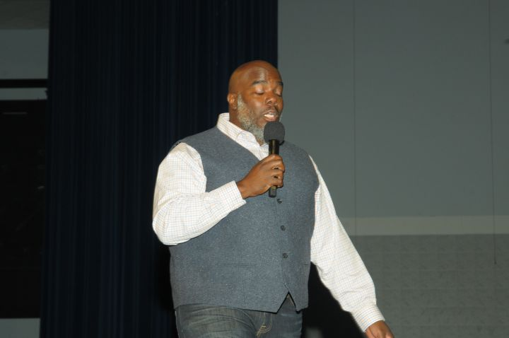 Griff At The 10th Anuual Spirit Of Praise