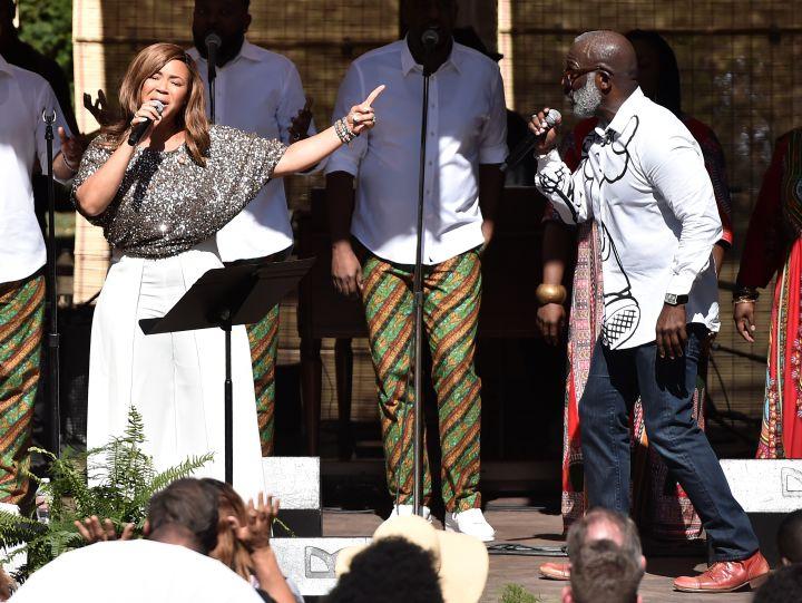 Oprah Winfrey's Gospel Brunch Celebrating Her New Book 'Wisdom Of Sundays'