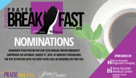 16th Annual Prayer Breakfast