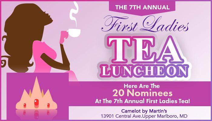 7th Annual First Ladies Tea