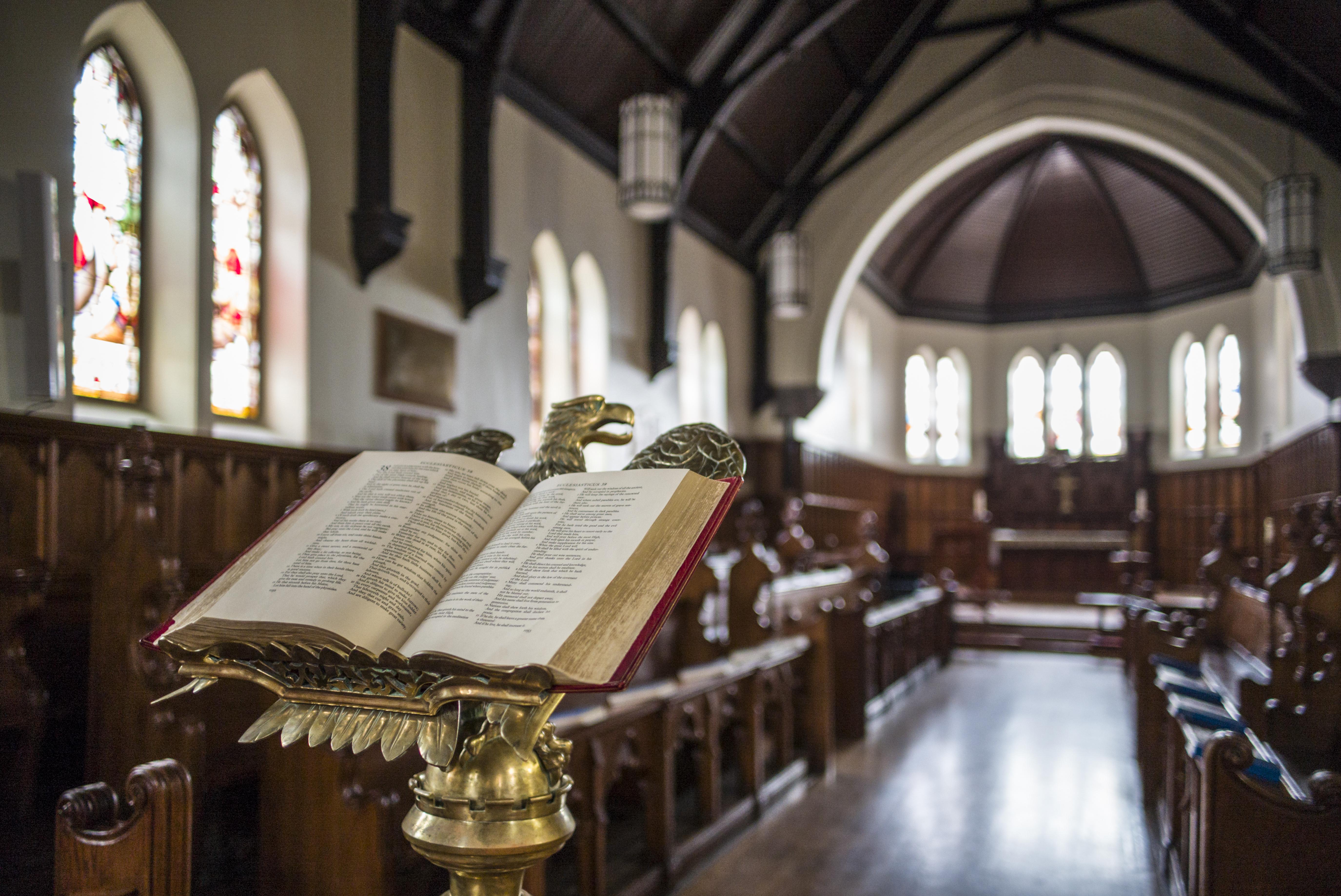 Quebec, Estrie Region, Lennoxville, Bishop's University, St. Mark's Chapel