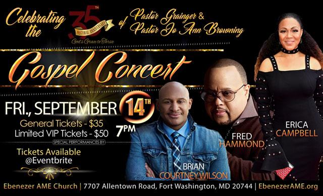 5th Pastoral Anniversary Celebration Gospel Musical Celebration