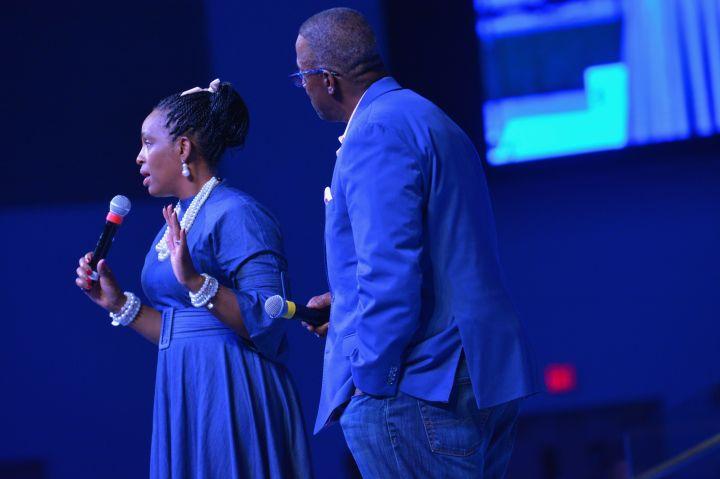 Joel Ylawnda Peebles At The 11th Annual Spirit Of Praise