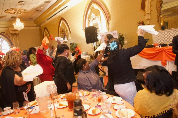 Crowd Moments At The 7th Annual Spirit Of Praise