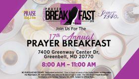 17th Annual Prayer Breakfast