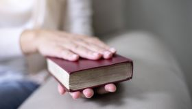 Women reading the Holy Bible