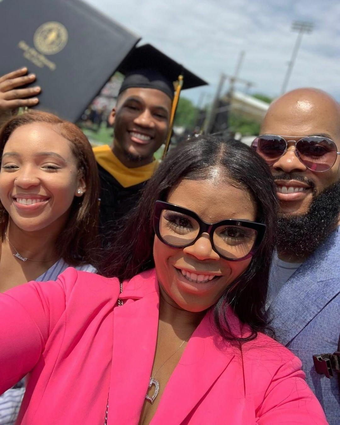 James Hairston IV Graduation with Family