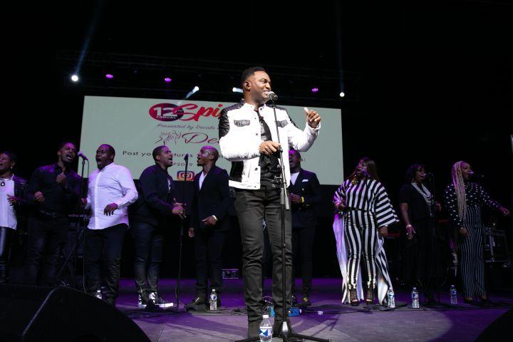 Jonathan Nelson & Purpose At the 12th Annual Spirit Of Praise Celebration