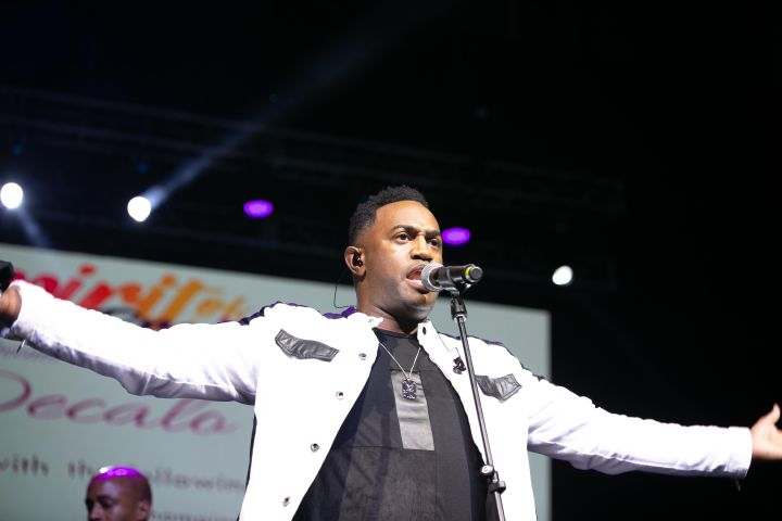Jonathan Nelson & Purpose At the 12th Annual Spirit Of Praise Celebration