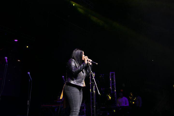 Koryn Hawthorne At the 12th Annual Spirit Of Praise Celebration