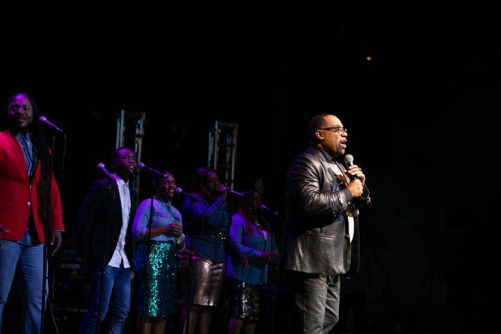 Kurt Carr At the 12th Annual Spirit Of Praise Celebration