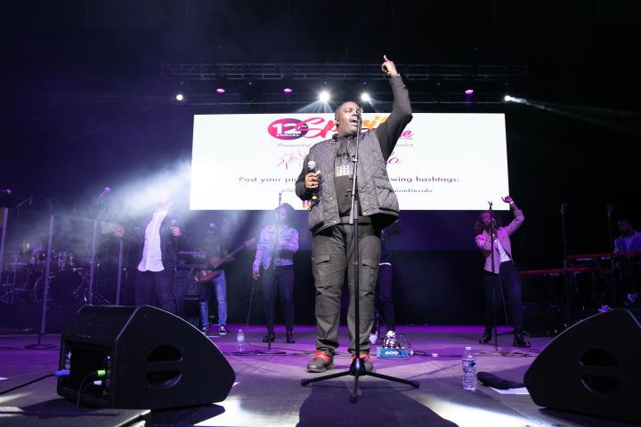 William McDowell At the 12th Annual Spirit Of Praise Celebration