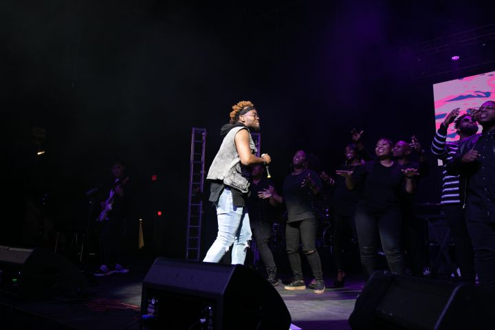 Travis Greene At The 12th Annual Spirit Of Praise Celebration