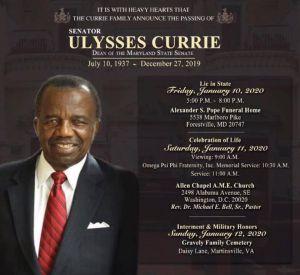 Ulysses Currie Arrangements