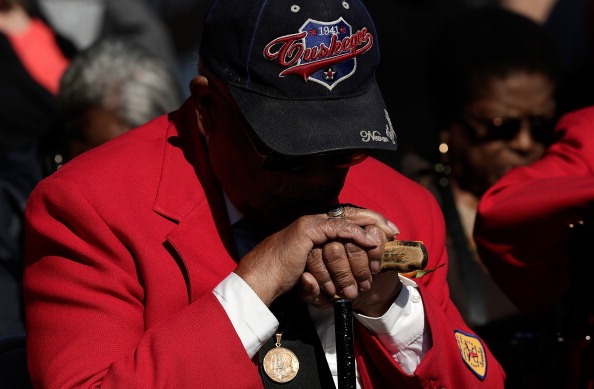 Tuskegee Airmen Honored At Veterans Day Ceremony