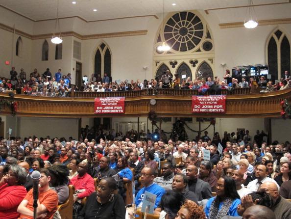 Washington Interfaith Network Event At Metropolitan African Methodist Episcopal Church