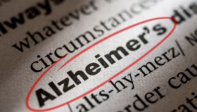 Dictionary entry for the word Alzheimer's