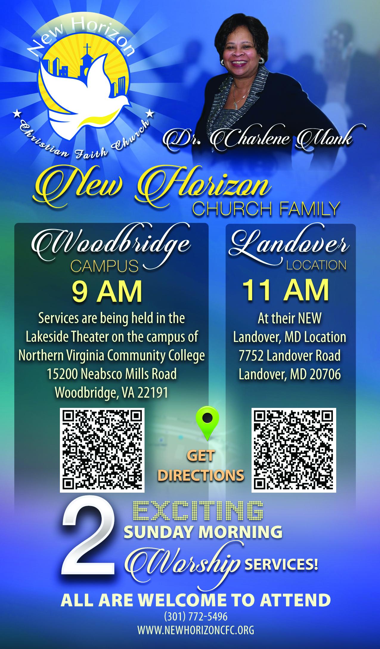 New Horizon Christian Faith Church with Dr. Charlene Monk