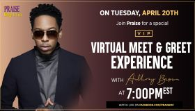 Meet and Greet Experience with Deitrick Haddon - Praise DC