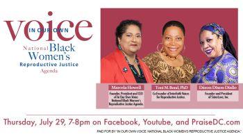 Black Reproductive Justice Policy Agenda